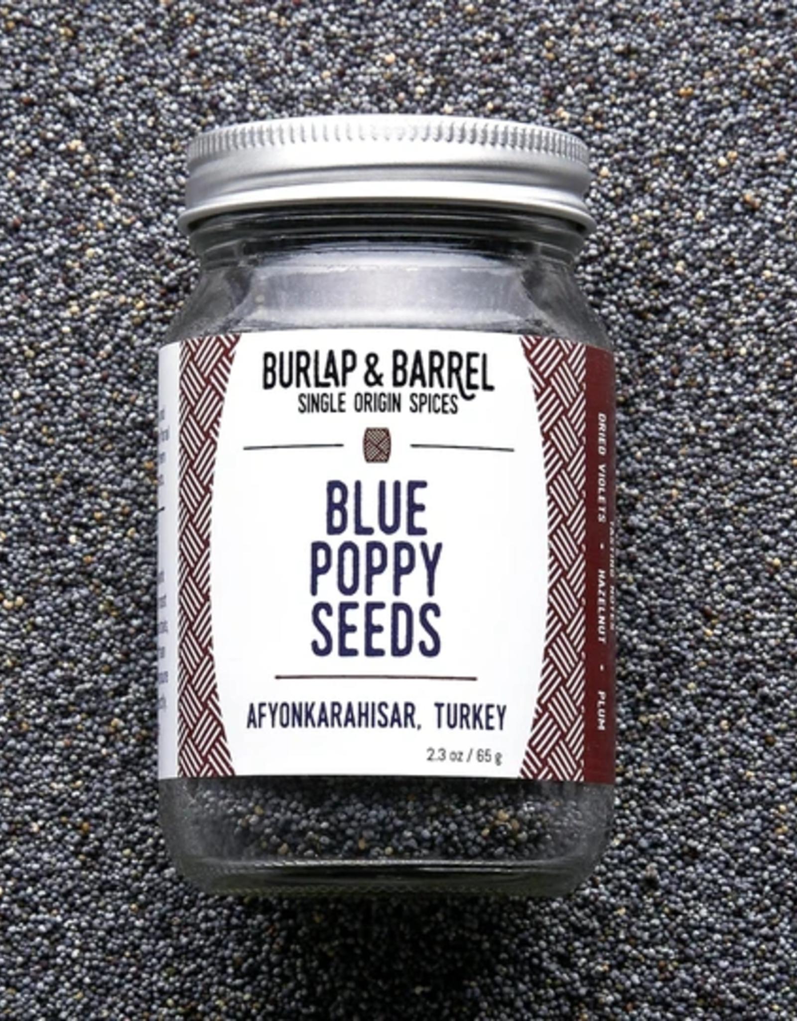 Burlap & Barrel Blue Poppy Seed