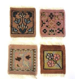 Bunyaad Pakistan Copper Mug Rug Assorted Classic Designs
