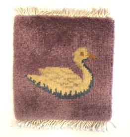Bunyaad Pakistan Mug Rug Duck design