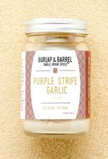 Burlap & Barrel Purple Stripe Garlic
