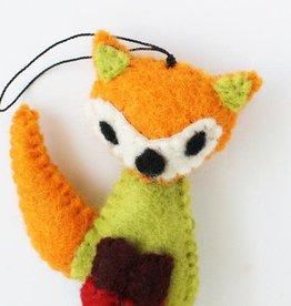 Hamro Village Fox Ornament