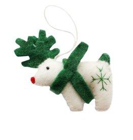 Hamro Village Deer Ornament