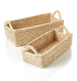 Serrv Long Kaisa Grass Basket - Medium