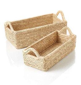 Serrv Long Kaisa Grass Basket - Large