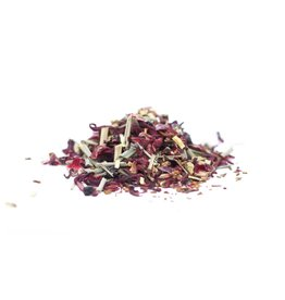 Justea Little Berry Hibiscus Tin with Spoon