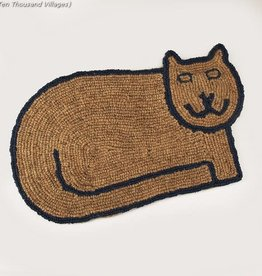 Ten Thousand Villages Kitty Clean Doormat