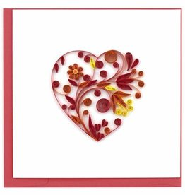 Quilling Card Quilled Heart Greeting Card