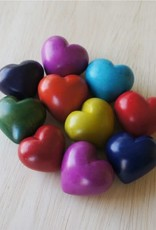 Venture Imports BOX  Colorful Plain Hearts