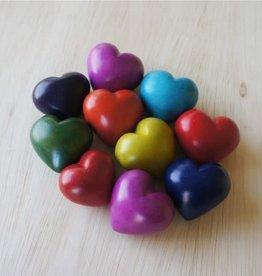 Venture Imports BOX  Colorful Plain Hearts