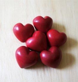 Venture Imports Plain Red Hearts