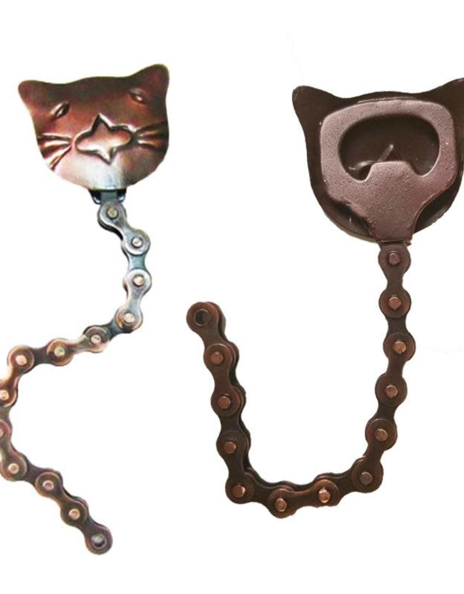 Mira Fair Trade Cat Bike Chain Bottle Opener