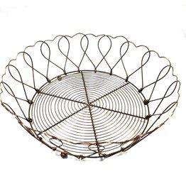 Mira Fair Trade Wire Hearts Bowl