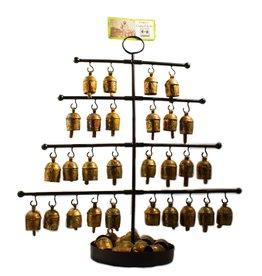 Mira Fair Trade Small Bell Display Tree