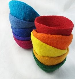 Small felted bowl