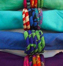 BOX Silk Sari Napkin Ring