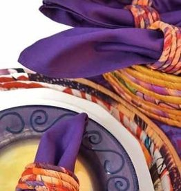 Ganesh Himal Silk Sari Napkin Ring