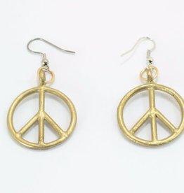 World Peaces Peace Sign Earrings