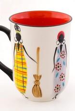Thumbprint Artifacts African Ladies Ceramic Mug