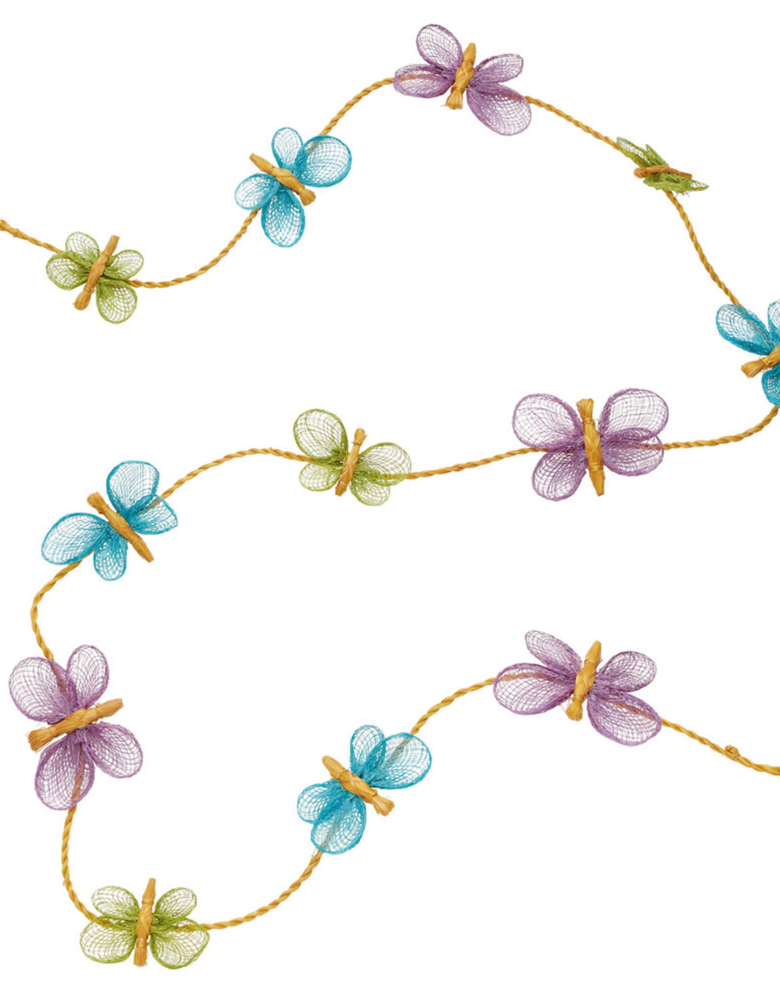 Serrv Abaca Butterfly Garland