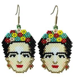 Tulia Artisans Frida Kahlo Earrings