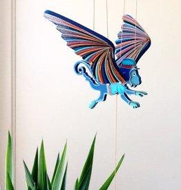 Tulia Artisans Flying Winged Monkey Mobile