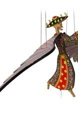 Tulia Artisans Calavera Catrina Day of the Dead Flying Mobile