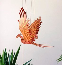 Tulia Artisans Phoenix Flying Bird Mobile