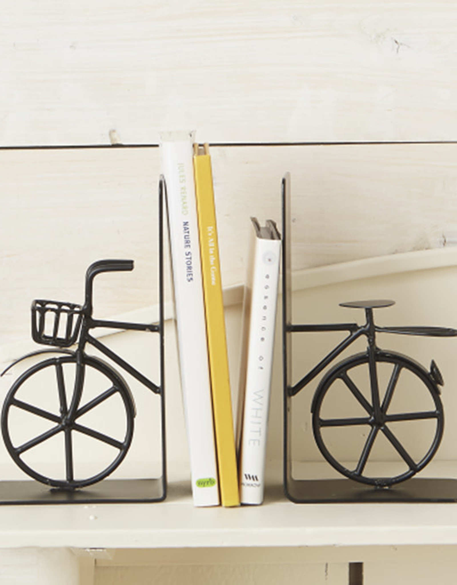Serrv Bicycle Bookends