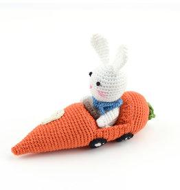 Serrv Crocheted Racer Bunny #9