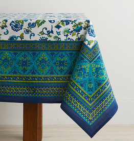 "Serrv Monsoon Flower Tablecloth - 90""x60"""
