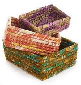 Serrv Nesting Sari Basket - Medium