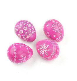 Serrv Pink Soapstone Egg
