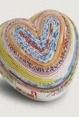 Ten Thousand Villages Paper Heart Box