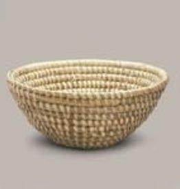 Ten Thousand Villages Kaisa Grass Basket Bowl - Med