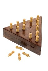 Matr Boomie Handcrafted Peg Board Game