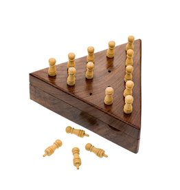 Handcrafted Peg Board Game