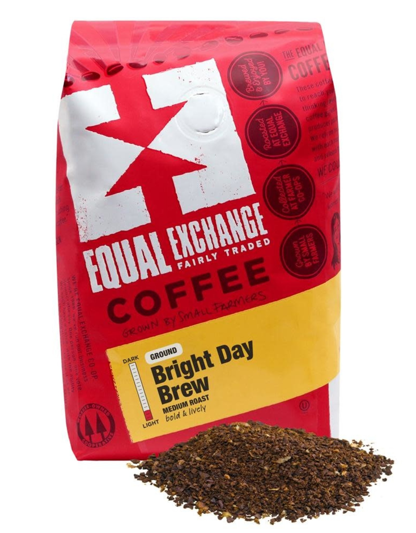 Equal Exchange Bright Day Brew  Coffee 12 oz / Ground