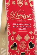 Divine Chocolate Milk Chocolate Hearts