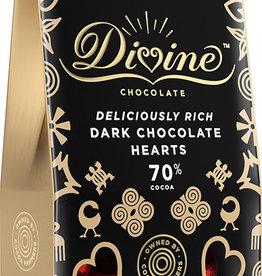 Divine Chocolate Dark Chocolate Hearts