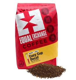 Equal Exchange Cozy Cup Decaf Coffee 12 oz / Ground