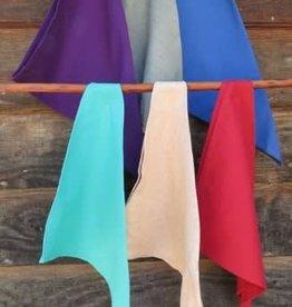 Handwoven Cotton Napkins Blue