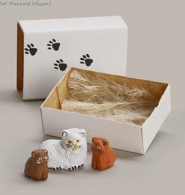 Ten Thousand Villages Kitty Prints Matchbox