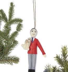 Silk Road Bazaar Mister Rogers Ornament