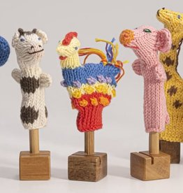 Lucuma Designs Organic Cotton Animal Finger Puppets - Assorted