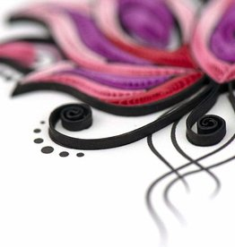 Quilling Card Quilled Namaste Greeting Card