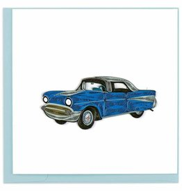 Quilling Card Quilled Vintage 57' Chevy Card
