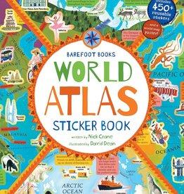 Barefoot Books Barefoot Books World Atlas Sticker Book