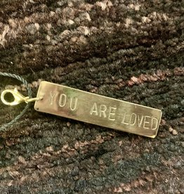 Venture Imports You Are Loved Charm