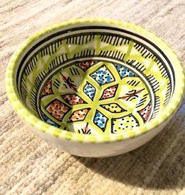 Sobremesa Rosette Green Small Ceramic Bowl