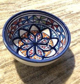 Sobremesa Starburst Blue Small Ceramic Bowl